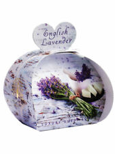 Calming English Lavender Luxury Scented Soaps In Pretty Picture Wrap