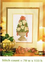 MAGNOLIA  TOPIARY   -  CROSS STITCH/EMBROIDERY   PATTERN  ONLY  PY - EEUS