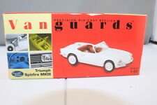 Vanguards VA06705 Triumph Spitfire MKIII  White with Red Hood   Complete & Boxed