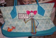 Dolly Mama New Large Tote plus Matching Purse Pads &Mirror