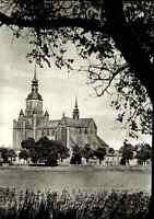 Kirchen Bauwerke Postkarte Marienkirche Kirche in STRALSUND DDR Ansichtskarte
