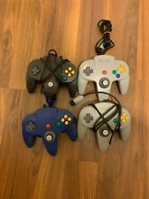Official Nintendo 64 N64 Controllers Authentic Original OEM Lot of 4