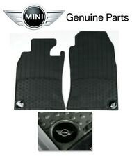 Mini Cooper R50 R53 02-06 Front All Weather Rubber Floor Mats Set Genuine OEM