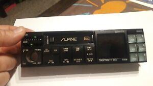 VINTAGE /////ALPINE 7390M TUNER/CASSETTE DECK FRONT PANEL