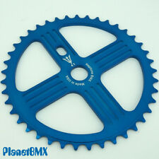 NEPTUNE BMX 41 tooth HELM Sprocket BLUE Gear for 19mm spindles Made in USA!