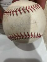 Historic Derek Jeter signed ball from his only career grandslam game Steiner COA