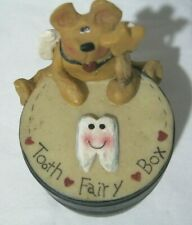 Tooth Fairy Keepsake Box Crazy Mountain Bear Magic Wand Country Rustic Cute New