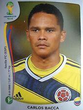 PANINI 198 CARLOS placée la Colombie FIFA Coupe du Monde 2014 Brésil