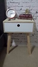 Bedside Table Cabinet Lamp Side Nightstand Unit