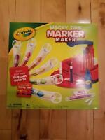 Crayola Wacky Tips Marker Maker Make Custom Colors NEW