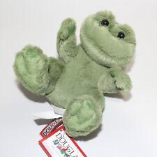 "Douglas Green FROG Lil Handful 6"" Plush Stuffed Animal Cuddle Toy NEW"