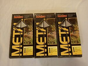 Lot of 3 Intermatic Malibu LT3 | Adjustable Pyramid Walklight |18 Watt | Black
