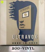 Ultravox - Rage In Eden - Vinyl Record LP Album - 1981 - CDL 1338  A1-B1 Ex+ Von