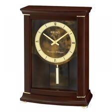 Seiko QXQ033B Westminister/whittington Mantel Chimes Alarm Clock With Pendulum