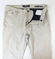Replay Mens Beige Lehoen Hyperflex Chino Jeans - W 34 L 32