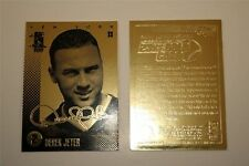 "DEREK JETER 2004 MERRICK MINT ""AUTOGRAPHED"" 23KT GOLD CARD! YANKEES LEGEND!"