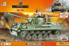 COBI M18 Hellcat / 3006 / 465 pcs bricks WWII American Tank Destroyer Small Army