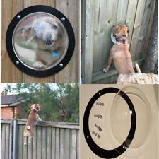 Dog Fence  Window -Peekaboo Windows