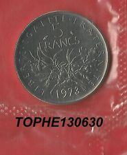 5 francs semeuse 1973 FDC scellée