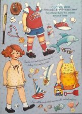 Mary Engelbreit Paper Doll, Audrey Ann, June/July 2006, Uncut Home Comp. Mag.