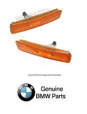 NEW BMW E36 Z3 Mcoupe Original Equipment Front Bumper Side Marker Light Set L+R
