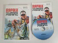 Rapala Pro Bass Fishing -- Nintendo Wii -- UK Seller --