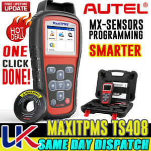 Autel TS408 TPMS Trye Pressure Diagnostic Tool Programming Relearn MX-Sensor UK