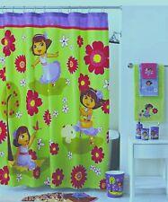 Nickelodeon-Dora The Explorer Fabric Shower Curtain NEW IN BAG