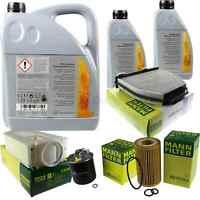 Inspektionspaket 7L Mercedes Öl 229.51 5W30 + MANN Filterpaket 11104804