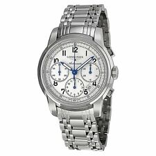 Longines Saint Imier Ivory Dial Chronograph Stainless Steel Mens Watch L27524736