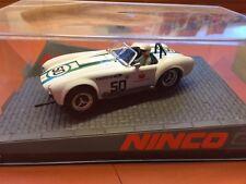 Ninco Cobra weiß Nr. 50 1:32 Slotcar NEU OVP Sehr Rar!! f. Carrera, Scx