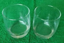 United Airlines Tulip Business Class Cocktail Glasses lot of 2