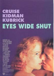 Eyes Wide Shut 1999 Movie Poster Print A0-A1-A2-A3-A4-A5-A6-MAXI 778