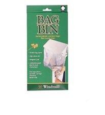 Carrier bag bin holder Turn plastic bags into waste bins,  motorhomes,campervans