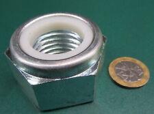 Class 8, Zinc Lock Hex Nut, Rh, M30 x 3.5 x 46 mm W x 30 mm H