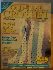 APR012 OLD TIME CROCHET MAGAZINE, SPRING 2001