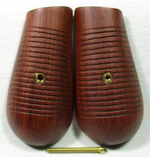 NEW REPRO WOOD GRIPS FOR MAUSER C96 BROOM HANDLE PISTOL