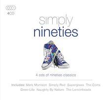 SIMPLY NINETIES Simple Red, The Corrs, Deee-lite 4 CD NEUF