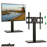 """Table Top TV Stand  Mount Pedestal Base for 32""""-55"""" Samsung LG Vizio Sony Screen"""