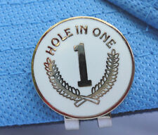 Hole-in-One Ball Marker +Free Magnetic Hat & Visor Clip
