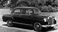 1961 Mercedes Benz 190D Sedan Factory Photo J1105