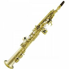 Bauhaus Walstein SSS-Y Straight Soprano Saxophone **NEW**