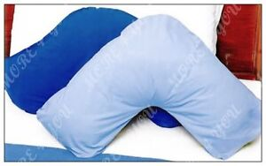 Over 10 Colors - V Shaped / Tri / Boomerang Standard Pillowcase Polyester Cotton