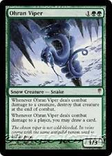 OHRAN VIPER Coldsnap MTG Green Snow Creature — Snake RARE