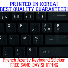 French Azerty Keyboard Sticker for Azerty Keyboard Best Quality Guaranteed!