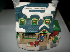 CHRISTMAS STREETS LIGHTED GENERAL STORE 2002 NEW IN BOX!!