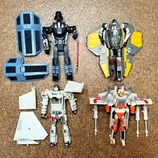 Star Wars Transformers Lot of Eight
