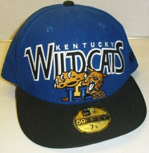 Kentucky Wildcats New Era Fitted hat sz. 7 1/8 New Ncaa