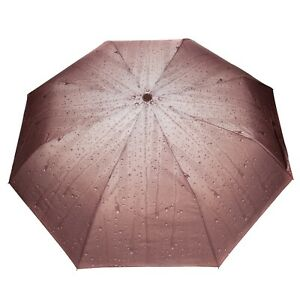 Women Travel Automatic Windproof UV Protection Compact Folding Sun Rain Umbrella