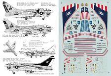 MICROSCALE DECALS 1/72 A-7A/B Corsair VA-125 VA-303 Golden Hawks VA-305 (USN)